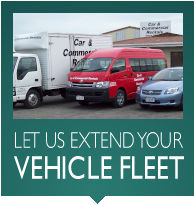 Let Us Extend Your Vehicle Fleet
